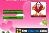 Играть Развивающие Найди отличия - Любовь онлайн флеш игра для детей