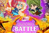 Играть Сражение Мини - Винкс и Трикс Битва онлайн флеш игра для детей