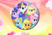 Играть Май Литл Пони: Круглый пазл онлайн флеш игра для детей