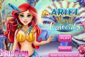 Играть Дисней Русалочка: Стрижка Ариэль онлайн флеш игра для детей