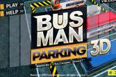 Играть Парковка автобуса онлайн флеш игра для детей
