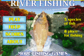 Играть Спининг Рыбалка на Реке онлайн флеш игра для детей