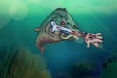 Играть Идеальный хищник: Накорми пиранью 2 онлайн флеш игра для детей