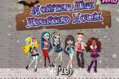Играть Монстр Хай. Домик для монстрика онлайн флеш игра для детей