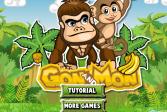 Играть На одного и На Двоих: Гон и Мон онлайн флеш игра для детей