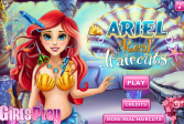 Игра Настоящая Стрижка Русалочки Ариэль онлайн флеш игра для детей