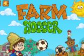 Играть Футбол Лига Чемпионов на ферме онлайн флеш игра для детей