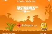 Играть Адам и Ева: Происхождение человека онлайн флеш игра для детей