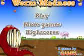 Играть Бешеный Дождевой Червяк онлайн флеш игра для детей