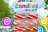 Играть Три в ряд Сладкие леденцы: история онлайн флеш игра для детей