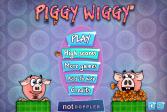 Играть Свинка Пеппа: жёлуди онлайн флеш игра для детей