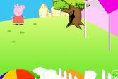 Играть Сад свинки Пеппы онлайн флеш игра для детей
