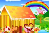 Играть Свинка Пеппа: печенье онлайн флеш игра для детей