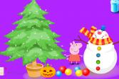 Играть Свинка Пеппа: Новый год онлайн флеш игра для детей