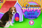 Играть Щенок Породы Бигль - дневной уход онлайн флеш игра для детей