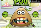 Играть Поу: Проблемные Зубы онлайн флеш игра для детей