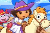 Играть Даша путешественница и Лай Литл Пони онлайн флеш игра для детей