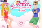 Играть Свадебное путешествие Барби онлайн флеш игра для детей