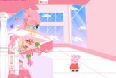Играть Свинка Пеппа: для девочек онлайн флеш игра для детей