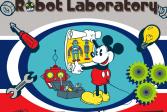 Играть Лаборатория Роботов Микки онлайн флеш игра для детей