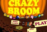 Играть Сумасшедшая метла онлайн флеш игра для детей