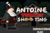 Играть Антуан: Стрельба по индейкам онлайн флеш игра для детей