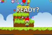 Играть О прыгающей девочке онлайн флеш игра для детей