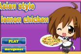 Играть Азиатская курица с лимоном онлайн флеш игра для детей