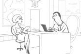 Играть Супермен из офиса онлайн флеш игра для детей