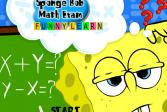Играть Губка Боб: Веселая Математика онлайн флеш игра для детей