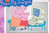 Играть Свинка Пеппа: За компьютером онлайн флеш игра для детей