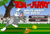 Играть Том и Джерри: Мышь о Хаузел онлайн флеш игра для детей