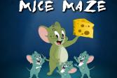 Играть Мышиный лабиринт онлайн флеш игра для детей