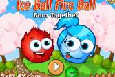Игра Ледяной и огненный шары: Рожденные друг для друга онлайн флеш игра для детей