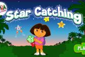 Играть Дора Исследователь Ловля Звезд онлайн флеш игра для детей
