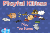 Играть Игривые котята онлайн флеш игра для детей