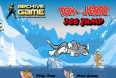 Играть Том и Джерри Ледяные прыжки онлайн флеш игра для детей