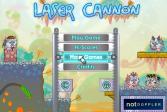 Играть Лазерная пушка онлайн флеш игра для детей