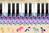 Играть Дружба это Чудо: Пианино Пони онлайн флеш игра для детей