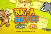 Играть Том и Джерри: мост онлайн флеш игра для детей