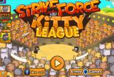 Играть Ударный отряд котят 4: Лига чемпионов онлайн флеш игра для детей