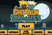Играть Дробовик против зомби онлайн флеш игра для детей