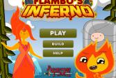Играть Время приключений: Огненный ад онлайн флеш игра для детей