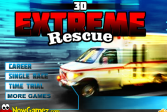 Играть Экстремальное спасение 3Д онлайн флеш игра для детей