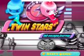 Играть Звезды-близнецы онлайн флеш игра для детей