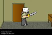 Играть Человек - череп онлайн флеш игра для детей