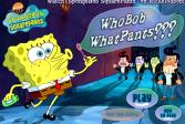 Играть Губка Боб: Что Боб, какие штаны? онлайн флеш игра для детей