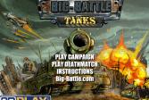 Играть Большая битва танков онлайн флеш игра для детей
