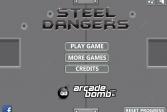 Играть Стальная опасность онлайн флеш игра для детей