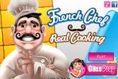 Играть Французский шеф-повар Реальная Кулинария онлайн флеш игра для детей
